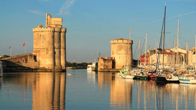 Escapade culturelle avec entrées pour les Tours de la Rochelle