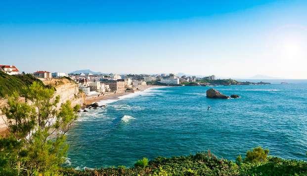 Escapada junto al mar a Biarritz