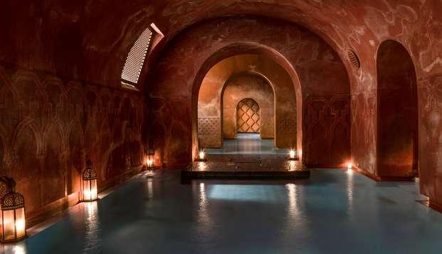 Week-end avec entrées aux bains arabes dans le centre de Madrid