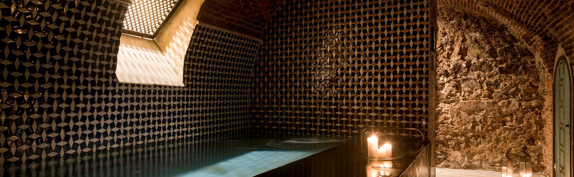 Oosterse aroma's in de Arabische baden van Madrid