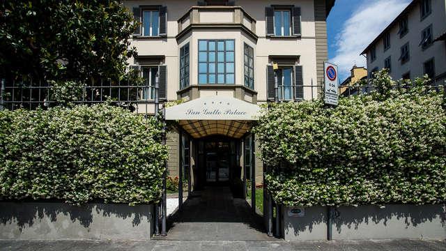 Verblijf in comfortkamer in Firenze in moderne accomodatie in het centrum