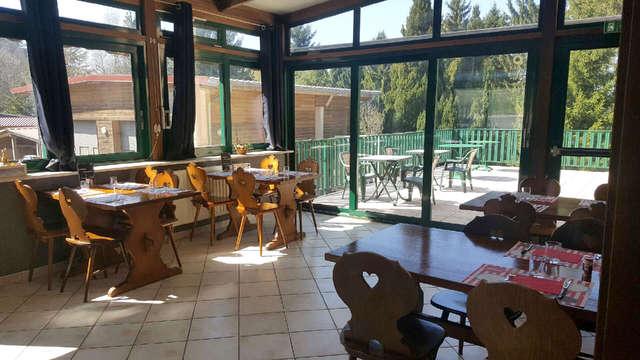 Week-end détente avec dîner près des Vosges