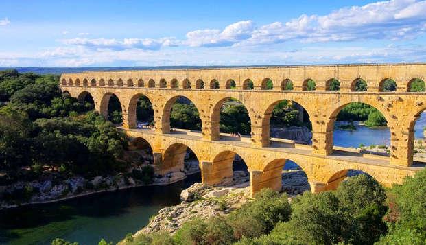 Escapada con encanto cerca del Puente del Gard