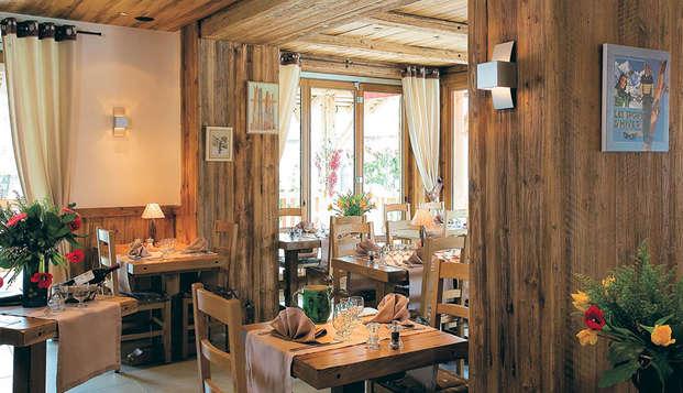 Week-end avec dîner Savoyard et accès SPA, au Grand Bornand