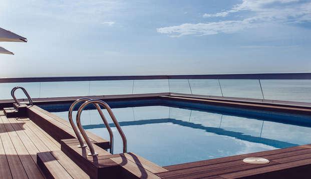 Bienestar con vistas al mar bajo el sol de Alicante