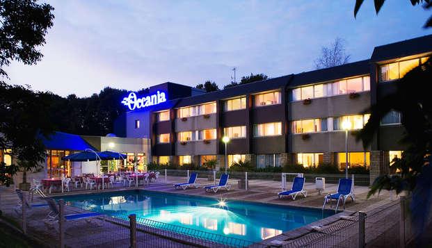 Week-end dans un hôtel moderne à Quimper