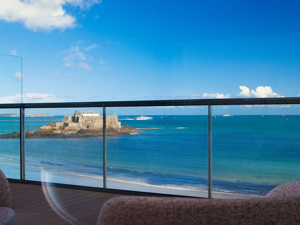 Séjour Saint-Malo - Week-end détente en chambre prestige face à la mer de Saint-Malo  - 4*