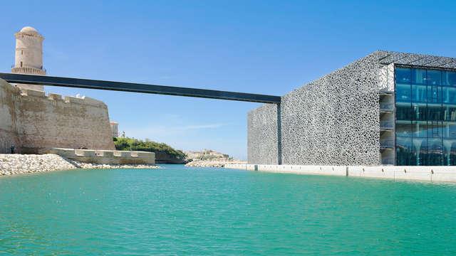 Week-end avec entrées au Mucem à deux pas de Marseille