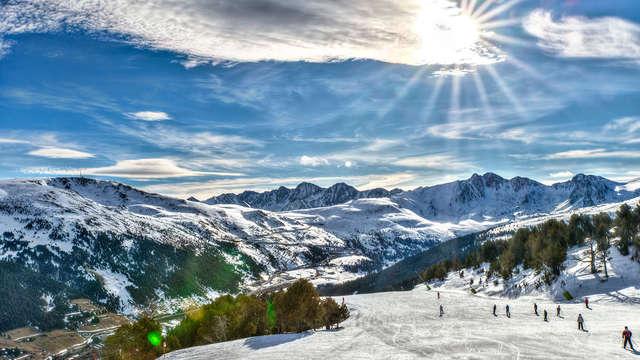 Découvrez les montagnes et la nature d'Andorre dans un appartement (jusqu'à 4 personnes)