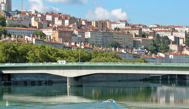 Escápate al corazón de Francia, muy cerca de Lyon