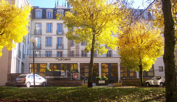 Hotel Residence les Sources - Luxeuil les Bains - front
