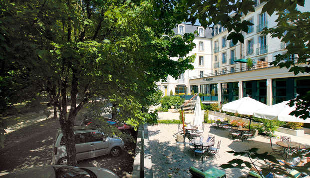 Hotel Residence les Sources - Luxeuil les Bains - Terracefront