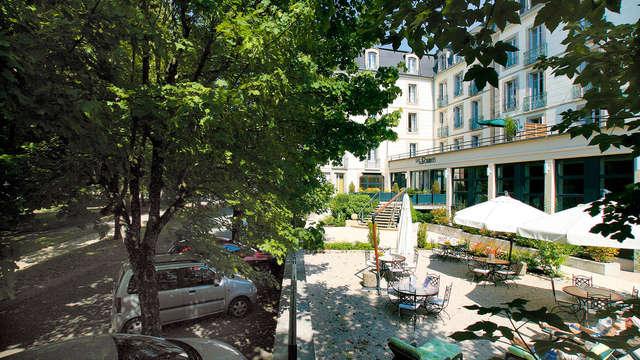 Week-end au cœur des Vosges, dans la station thermale de Luxeuil-les-Bains