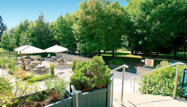 Hotel Residence les Sources - Luxeuil les Bains - Terrace