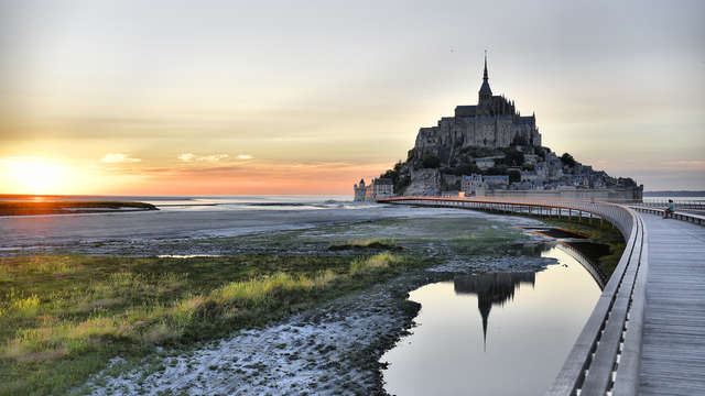 Week-end au pied du Mont-Saint-Michel