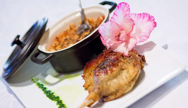 Week-end détente avec dîner du terroir en Gascogne