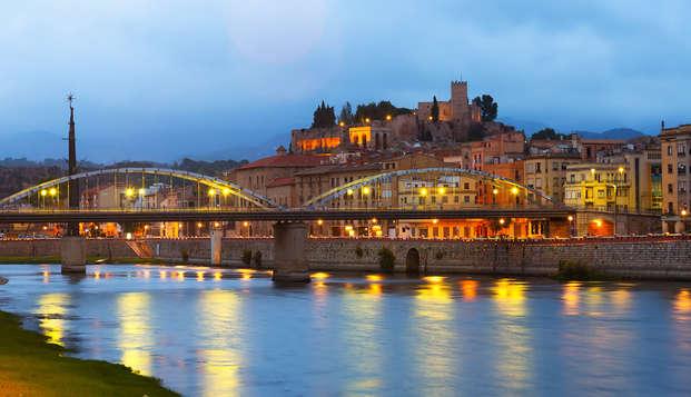Descubre Tortosa y el Delta con una cena
