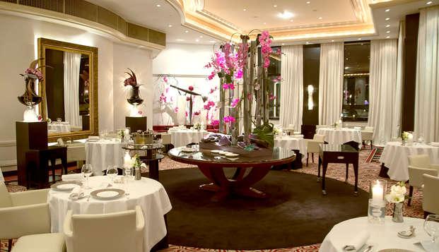 Escapade détente et gastronomique dans un hôtel 5* à côté de Lyon