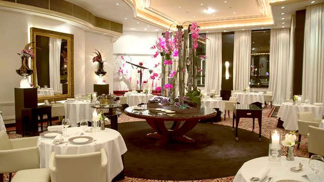 Gastronomia stellata in un hotel 5* accanto a Lione