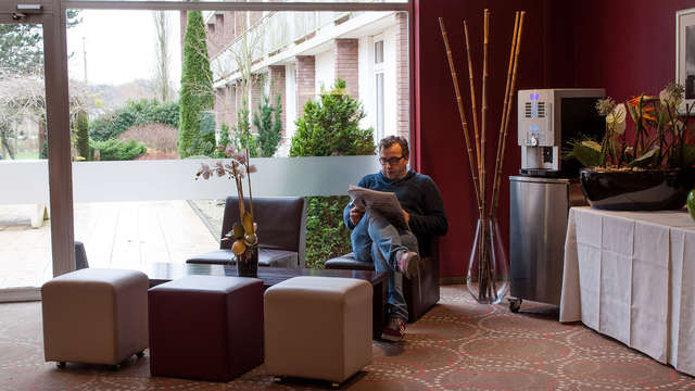 Green Park Hotel Brugge - NEW Lobby