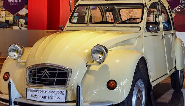 Mercure Paris Roissy CDG - NEW Car