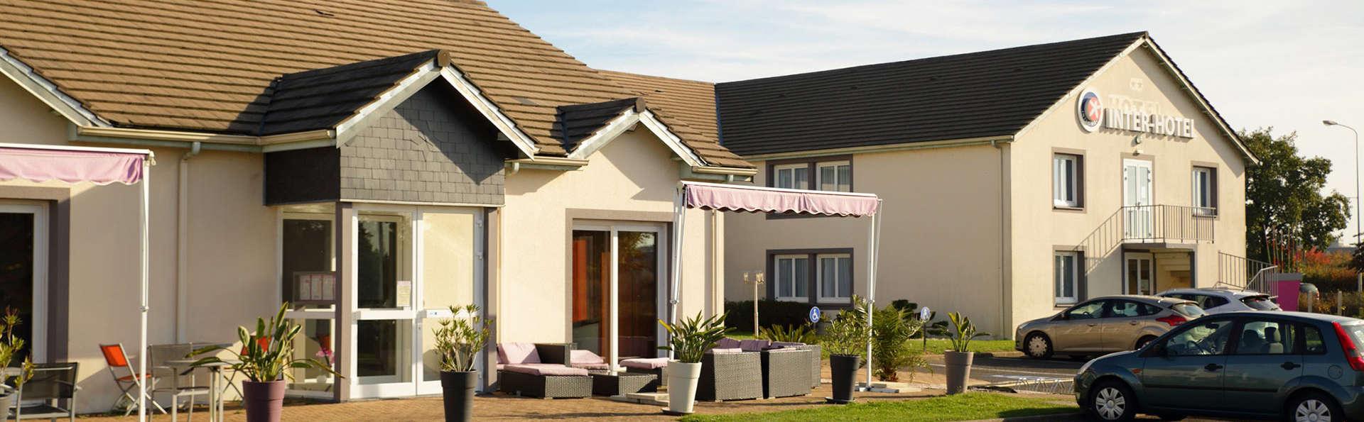 inter hotel la terrasse 3 tours france. Black Bedroom Furniture Sets. Home Design Ideas