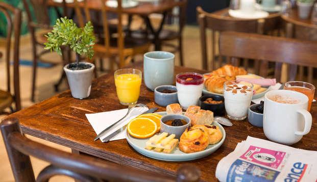 Best Western Hotel Marseille Bourse Vieux Port by HappyCulture - breakfast