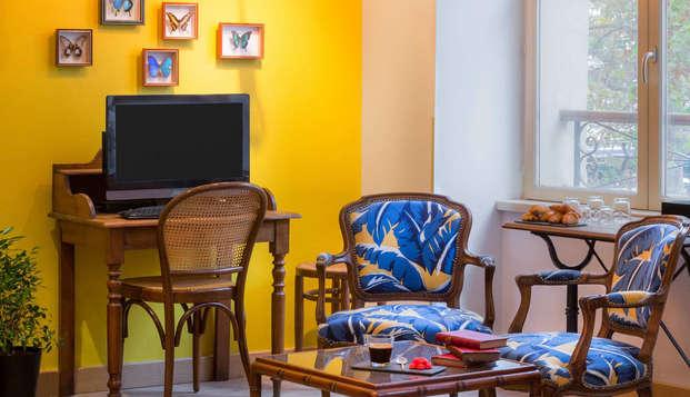 Best Western Hotel Marseille Bourse Vieux Port by HappyCulture - salon