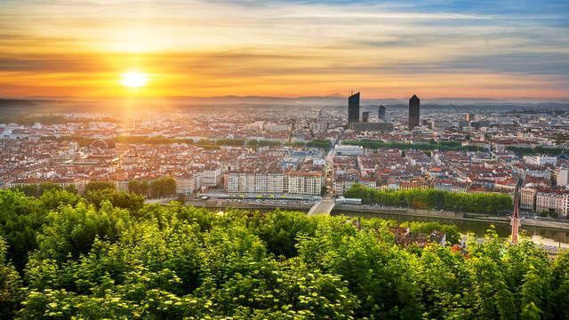 Week-end citytrip aux portes de Lyon ( Lyon city card incluse)