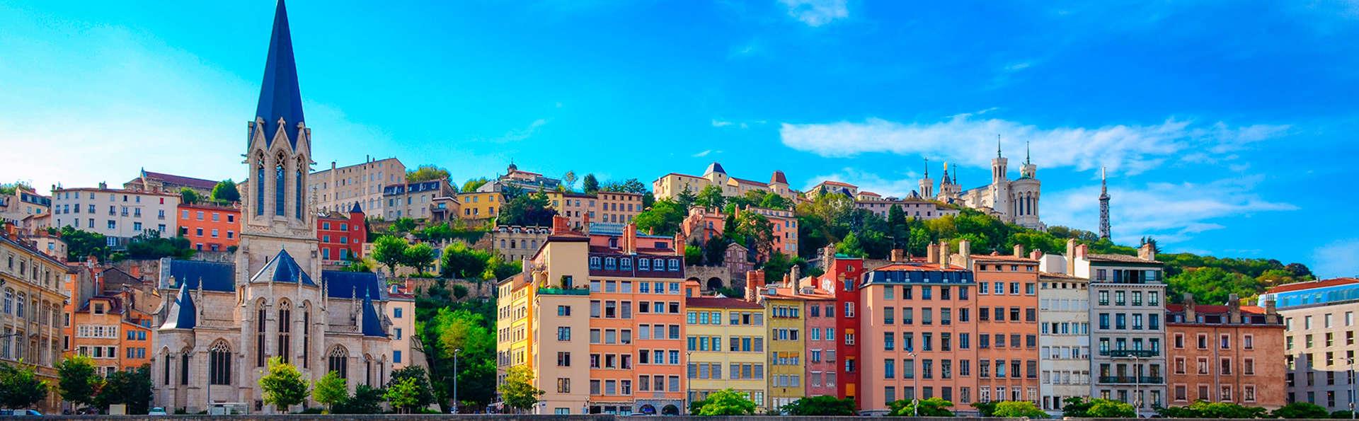 Week-end aux portes de Lyon (avec 1 repas offert)