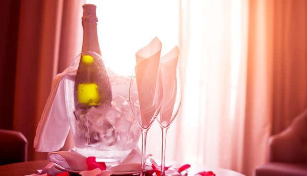 Romanticismo y champán para fin de año