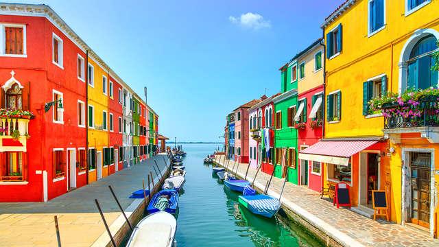 Luxe 4* avec vue sur Venise et visite de Murano
