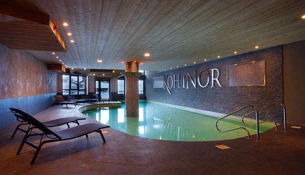 Relax y spa en un lujoso hotel 5* en el Val Thorens