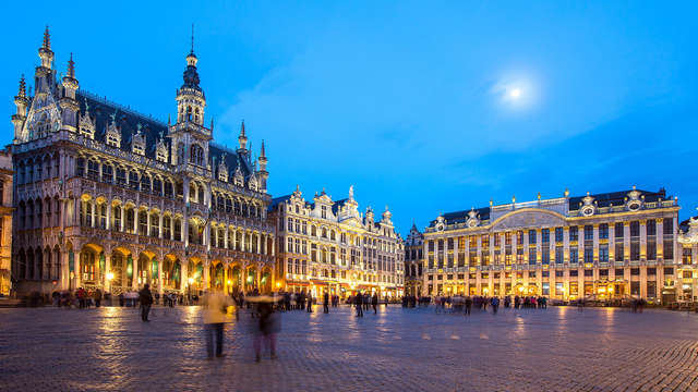 Romantiek in Brussel met luxe, diner en bubbels