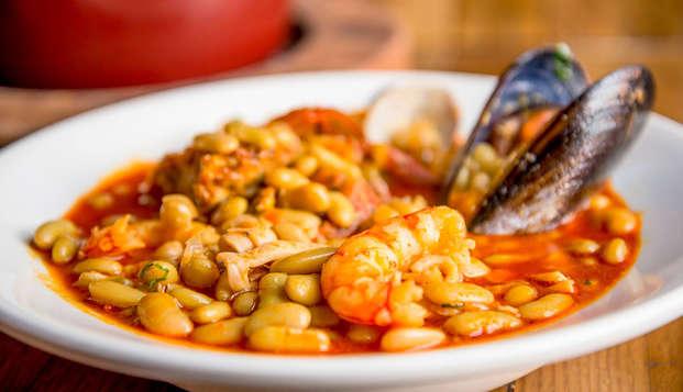 Escapada gastronómica: Degustación de productos locales Tierra Astur en Oviedo (desde 2 noches)