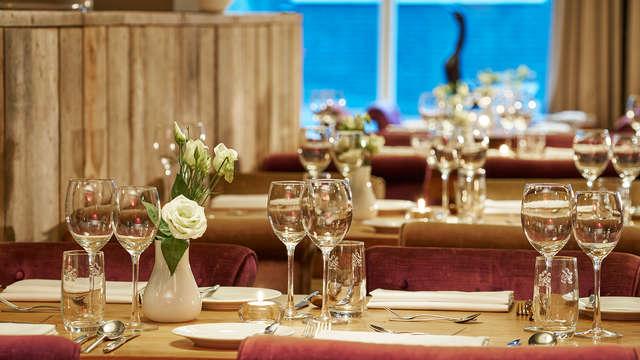 Fin de semana romántico con cena en el sur de Limburgo