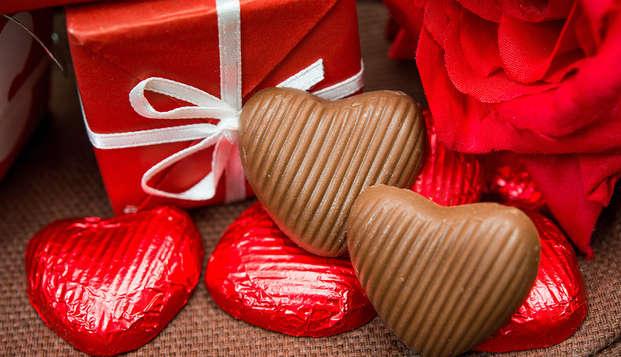 ¡Increíble Día de San Valentín con champán y bombones en Aix en Provence!
