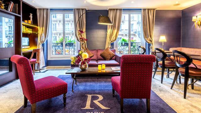 Séjour romantique avec champagne à Paris
