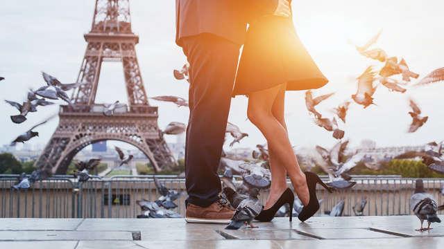 Cajita de juegos, champán y spa privado para una estancia inolvidable en París