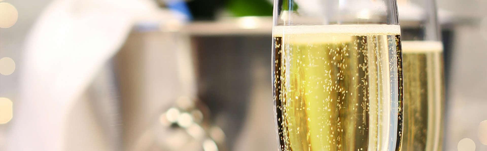 Escapade romantique avec demi-bouteille de champagne à Nîmes