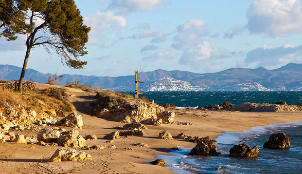 Vacances en pension complète en bord de mer dans la commune d'Escala