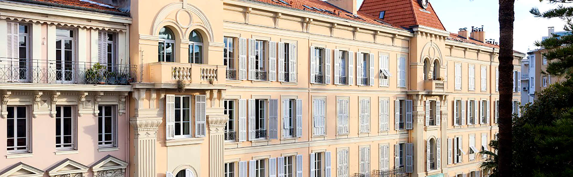La malmaison nice boutique hotel 4 nice france for Boutique hotel nice