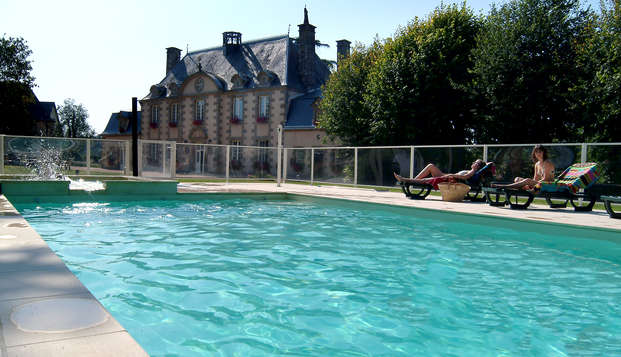Week-end avec accès à l'espace détente au bord de la Mayenne