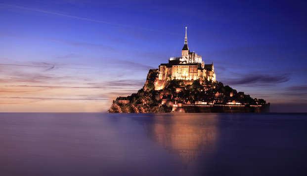 Week-end en chambre Prestige au Mont-Saint-Michel