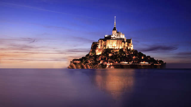 Week-end en chambre Prestige au Mont-Saint-Michel