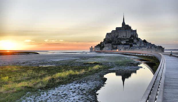 Découvrez le Mont-Saint-Michel