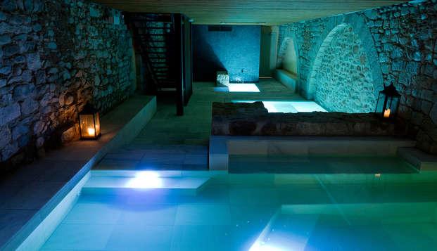 Romantisme et détente avec accès aux bains arabes de Gérone