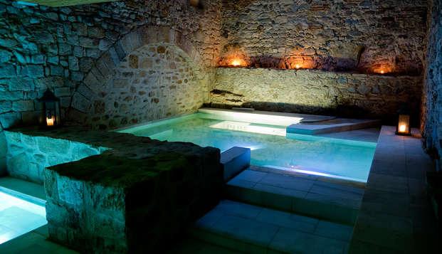 Relax con baños romanos y alojamiento en un Hilton en Girona