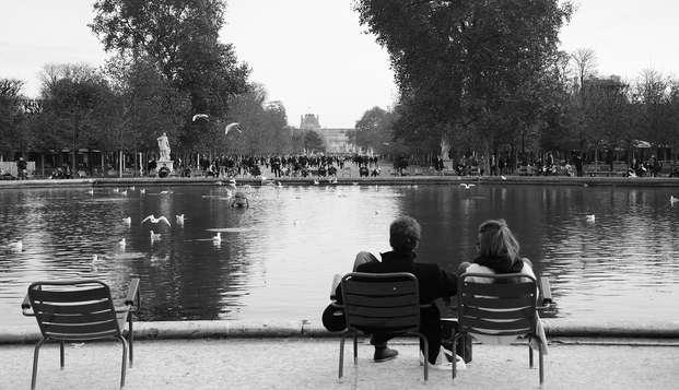 Week-end avec champagne et gourmandises en plein Paris
