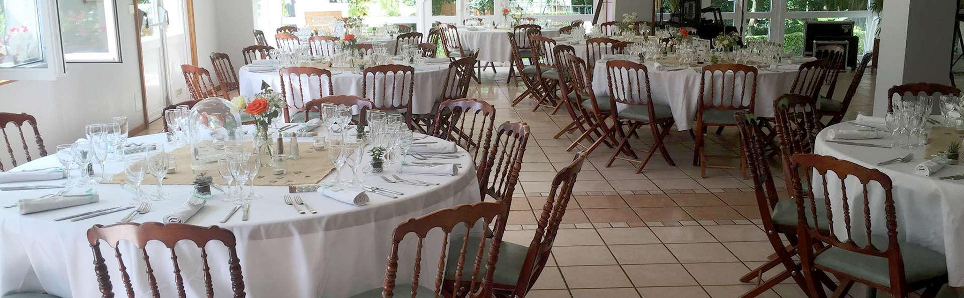 Cena para dos en La Chaussée sur Marne, en Champaña-Ardenas